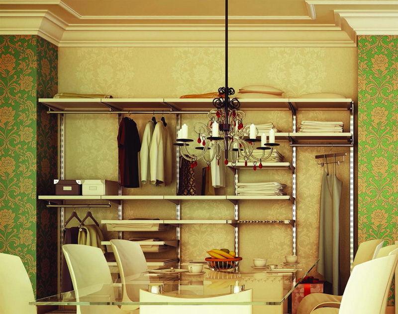 Заказать гардеробную комнату Фото (Коломна) мебель гардероб