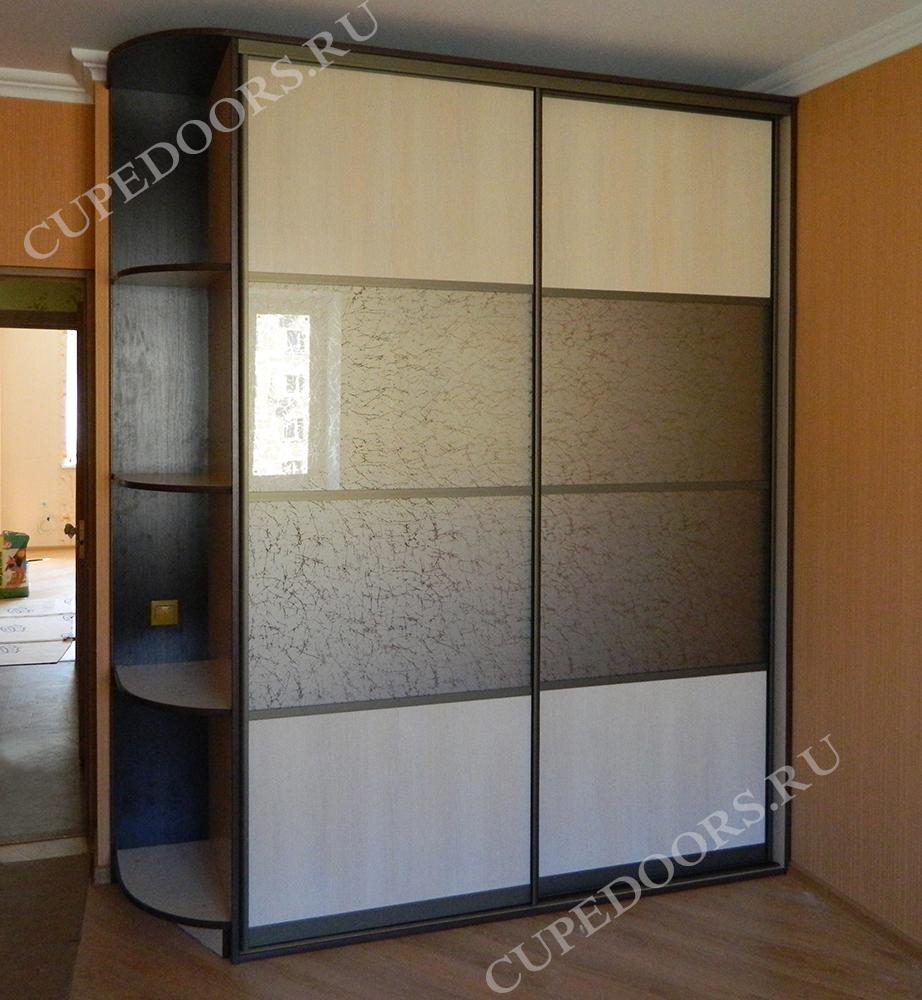 Шкафы-купе  фото и цены с полочками