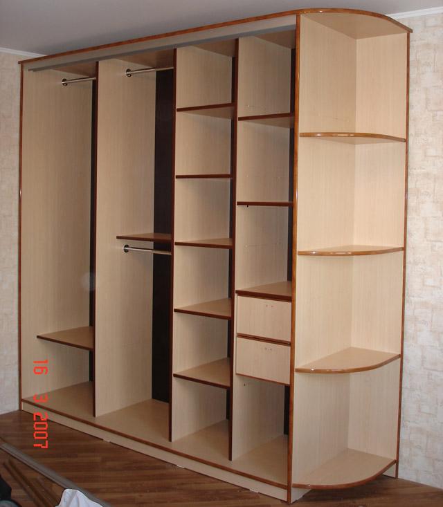 Шкаф купе элитный - примеры готовых работ от компании cupedo.